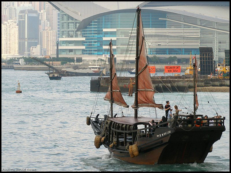 The Duk Ling - a traditional Chinese junk